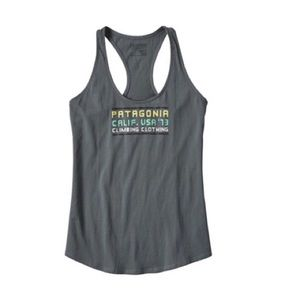 Patagonia Mt. Minded Ropes Cotton Tank